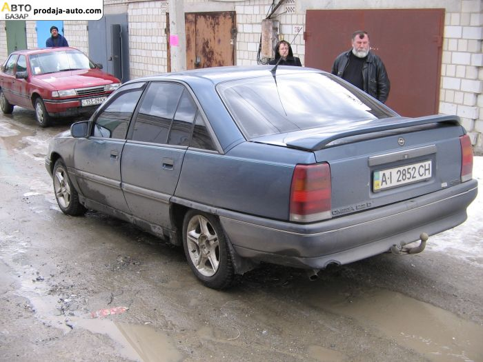 опель омега 1987