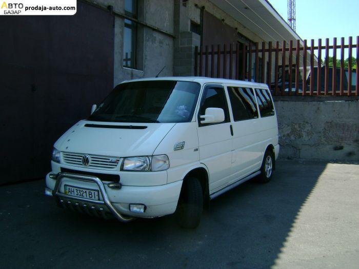 автобазар украины - Продажа 2002 г.в.  Volkswagen Transporter