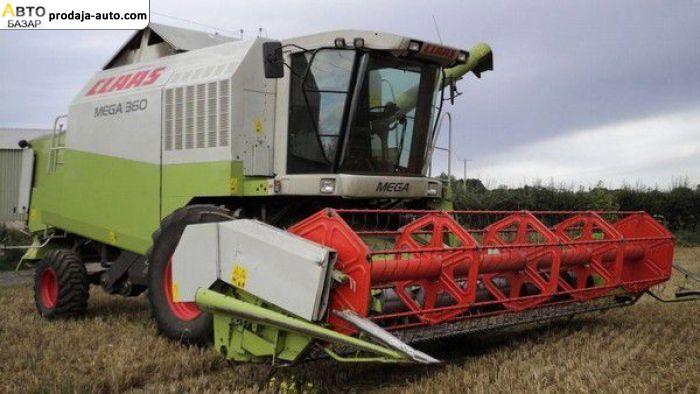 автобазар украины - Продажа    Продам комбайн зерноуборочный CLAAS mega 360 жатка