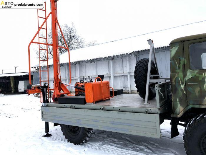 автобазар украины - Продажа 1998 г.в.  Газ 66 Ямобур БКМ-2,5 на базе Газ 66