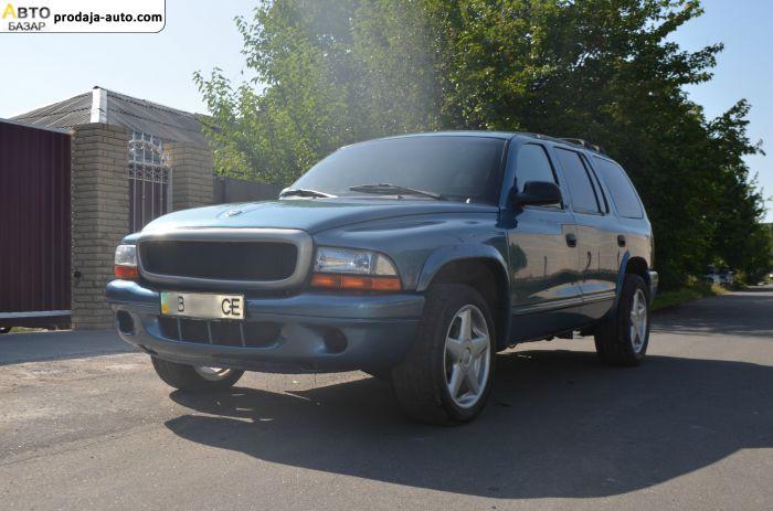 автобазар украины - Продажа 2002 г.в.  Dodge Durango Универсал