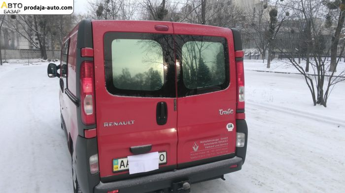 автобазар украины - Продажа 2008 г.в.  Renault Trafic ГРУЗПАС