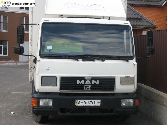 автобазар украины - Продажа 2000 г.в.  MAN 8163