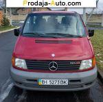 автобазар украины - Продажа 2000 г.в.  Mercedes Vito Mercedes-Benz V 200 CDI МТ (102 л.с.)