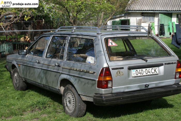 автобазар украины - Продажа 1984 г.в.  Volkswagen Passat В2