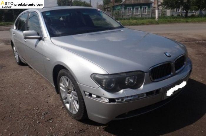 автобазар украины - Продажа 2004 г.в.  BMW 7 Series E65