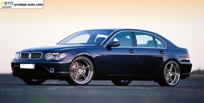 автобазар украины - Продажа 2003 г.в.  BMW 7 Series
