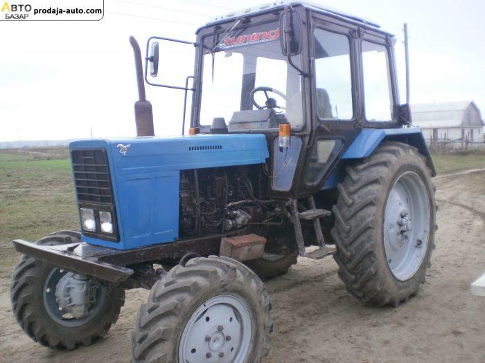автобазар украины - Продажа 1986 г.в.  Трактор МТЗ-82