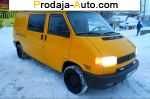 2001 Volkswagen Transporter T4 LONG  автобазар