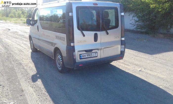 автобазар украины - Продажа 2006 г.в.  Renault Trafic пассажир
